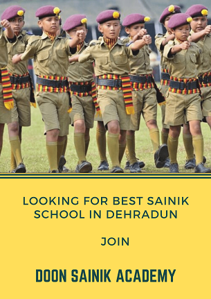 Join Defence Program in Doon Sainik Academy
